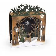 Winter Woods Shadow Box