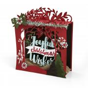 Joyful Christmas Wishes Shadow Box