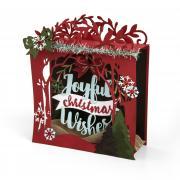 Joyful Christmas Wishes Shadow Box