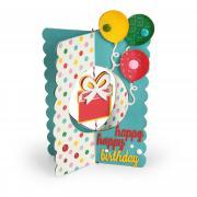 Happy, Happy Birthday Card