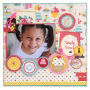 Simply Sweet Scrapbook Page