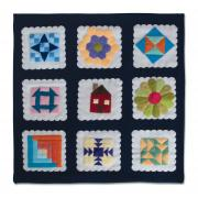 Petite Block Sampler Wall Hanging