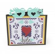 Hola Love Birds Card