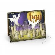 Boo Village Graveyard Card
