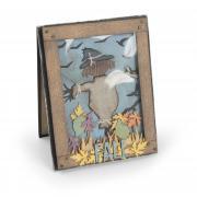 Fall Scarecrow Shaker Card