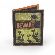 Beware Black Cats Card