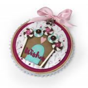 Sweet Christmas Embroidery Hoop