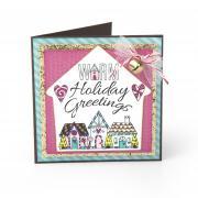 Warm Holiday Greetings Card #2