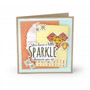 You Leave a Sparkle Card