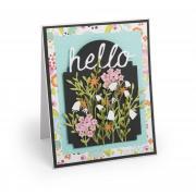 Hello Flowers Card #4