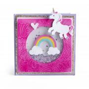 Rainbows & Unicorns Shaker Card