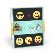 Smile Emojis Card