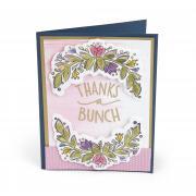 Thanks a Bunch Flower Vine Card #2