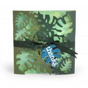 Thanks Tropicool Leaves Gatefold Card #2