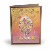 Autumn Thanks Shaker Card