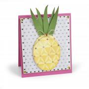 Embossed Pineapple Card
