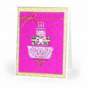 Birthday Cake Shaker Card #2