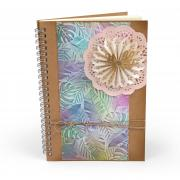 Hello Doily Leaves Journal