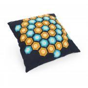 Woolly Hexagons Pillow