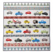 Happy Transportation Quilt