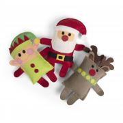 Elf, Reindeer & Santa Softies