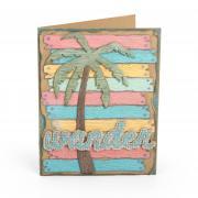 Wander Palm Tree Card