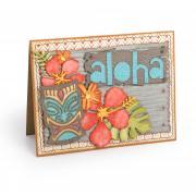 Aloha Tropics Card