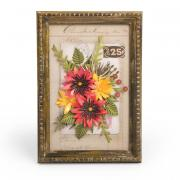 Funky Floral Frame