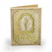 Lucky Flowers Card