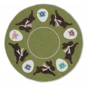 Leaping Bunnies Table Mat
