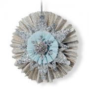 Snowflake & Rosette Ornament