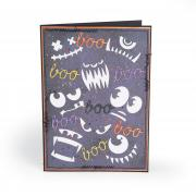 Boo Frightening Faces Card