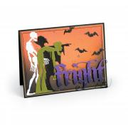 Ghoulish Fright Card