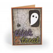 Trick or Treat Ghost Card