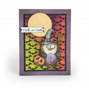 Trick or Treat Owl Card