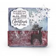 Merry Little Christmas Canvas