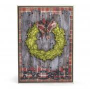 Noel Wreath Card