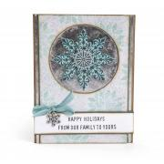 Happy Holidays Snowflake Card #3