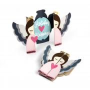 Angel Fold-a-Long Card