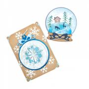 Ornament & Snow Globe Cards