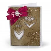 Joy Ornaments Shaker Card