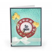 Happy Birthday to You Shaker Card