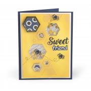 Sweet Friend Shaker Card