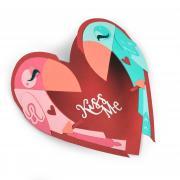 Kiss Me Heart Card