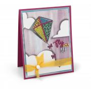 Fly with Me Kite Shaker Card