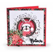 Believe Penguin Shaker Card