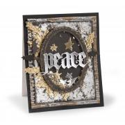 Peace Holly Card