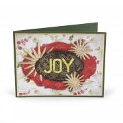 Joy Labels & Radiant Bursts Card