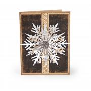 Layered Snowflakes Card