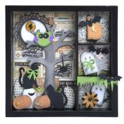 Boo Halloween Shadow Box